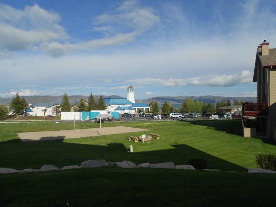 WorldMark Bear Lake: The view looking east toward Bear Lake