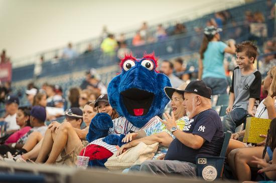 George M. Steinbrenner Field: Blue loves Tampa Yankees fans!