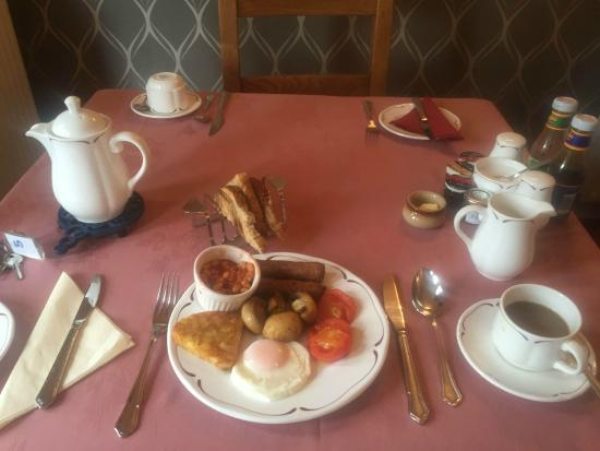 Brae Guest House: vegetarian breakfast
