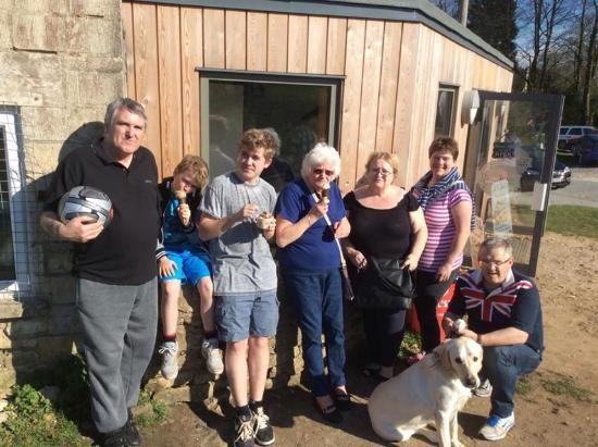 Premier Inn Stroud Hotel : Family get together Rodborough Common near Stroud
