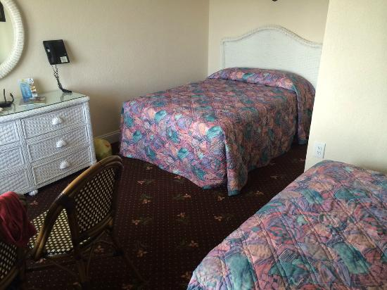 Crystal Beach Motor Inn: Motel Room