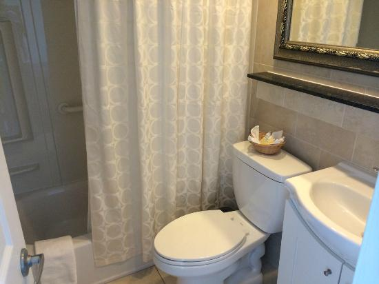 Crystal Beach Motor Inn : Bathroom