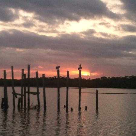 Chokoloskee Island Park and Marina: Boat launch sunsets