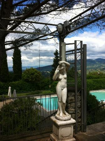 Villa dei Bosconi : Terrace by the restaurant