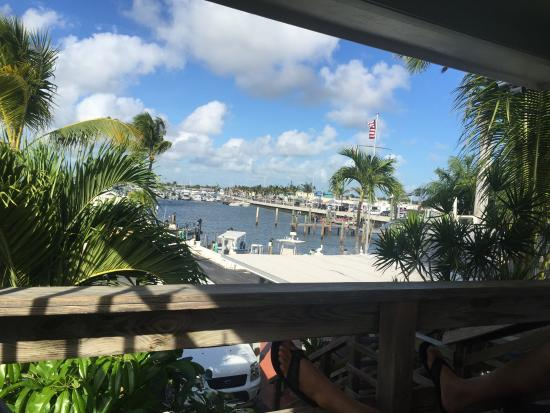 Harborside Motel & Marina : Open Balcony View