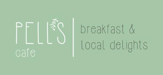 "Pell's Cafe ""Breakfast & Local Delights"": logo"