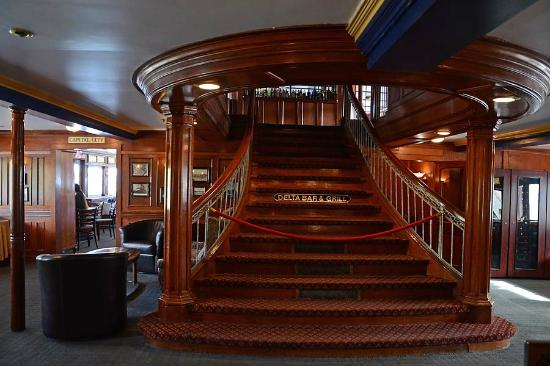 Delta King: Shared Interior of Boat