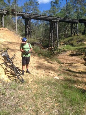 Brisbane Valley Rail Trail: Between Ferndale & Esk