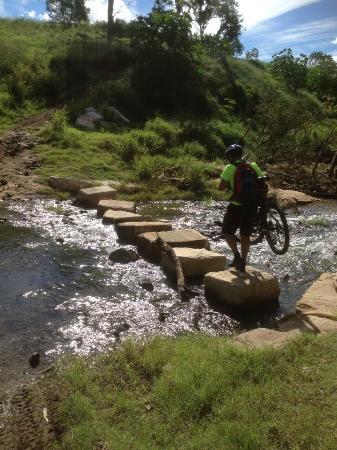 Brisbane Valley Rail Trail: A few creek crossings