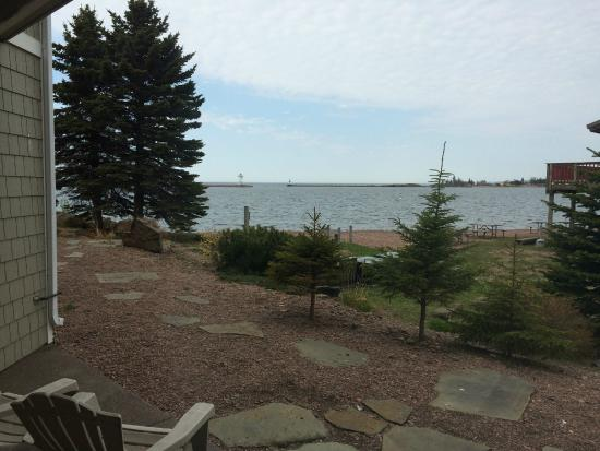 Cobblestone Cove Villas: View from the patio