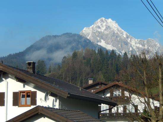 Haus Schweigart: View from Room and Patio