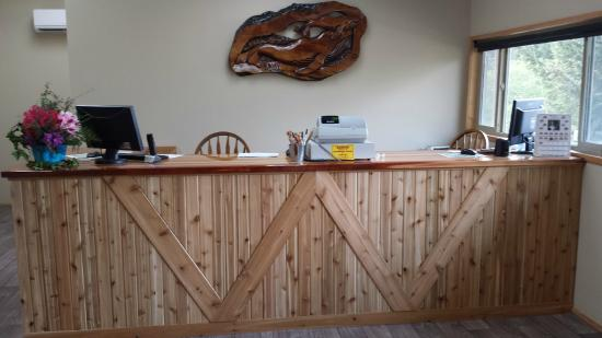 Whaleshead Beach Resort: New reception desk