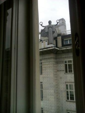 Pension Riedl : the view from my window