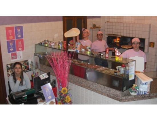 Pizzeria La Pantera Rosa Sprint: ambiente