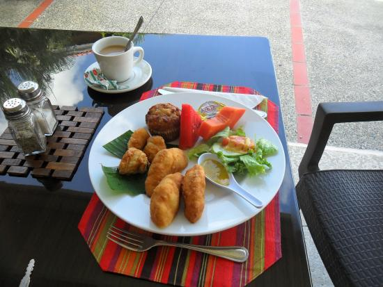Enchanted Waters Tobago : Choice of Breakfast