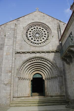 Monasterio de Armenteira: portada