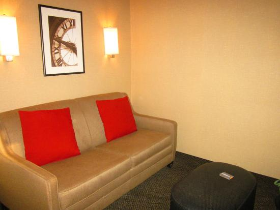 Cambria Hotel Raleigh-Durham Airport: Living Area/Sofa Bed