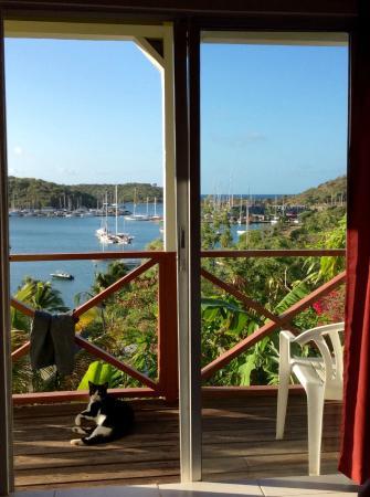 Ocean Inn: View from Room 9