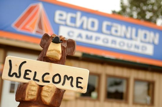 Echo Canyon Campground & RV Park : We hope you'll come and see us!