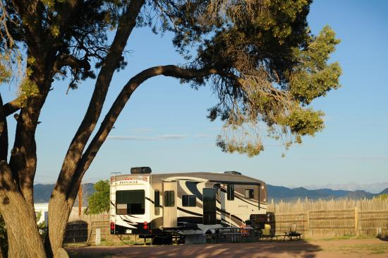 Echo Canyon Campground & RV Park: We accept RV's, too!