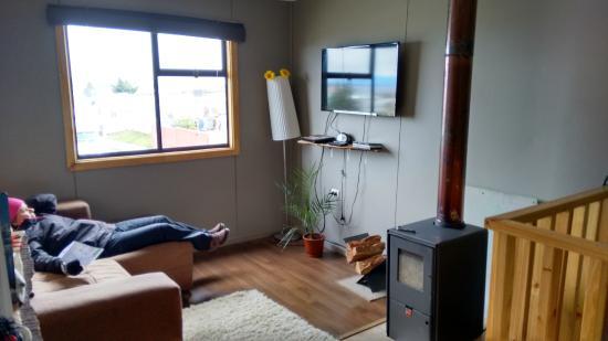 Hostal Morocha: Sala de TV