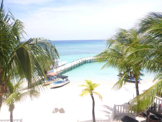 Infinity Bay Spa and Beach Resort: View from balcony room 1004