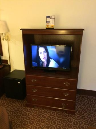 Bayside Hotel of Mackinaw: TV