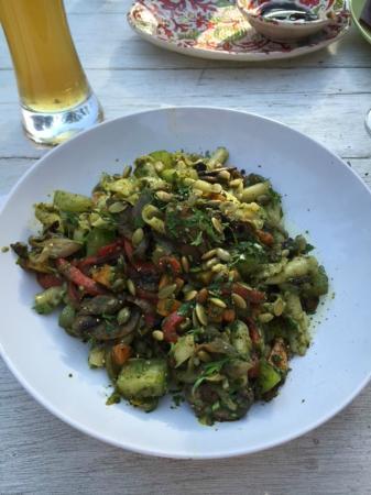 The Italian Farmhouse: AMPANELLE CON VERDURE for vegetarians *DELICIOUS!*