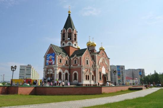 Картинки по запросу православный приход храма покрова божией матери мегион