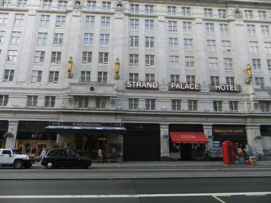 Strand Palace Hotel Located Right On The In Central London