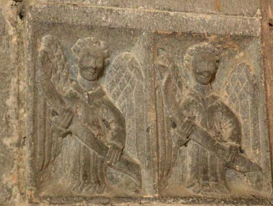 St. Brendan's Clonfert Cathedral: Angels, Chancel