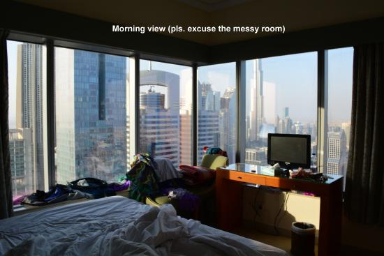 Al Salam Hotel Suites: View form apartment window during day light