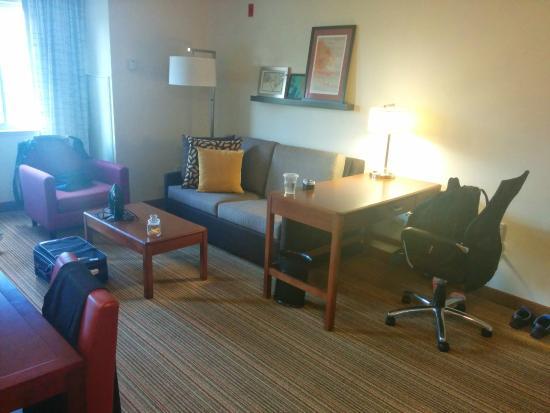 Residence Inn Seattle East/Redmond: Living / study