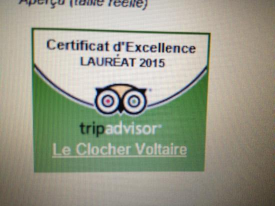 Le Clocher Voltaire : hh