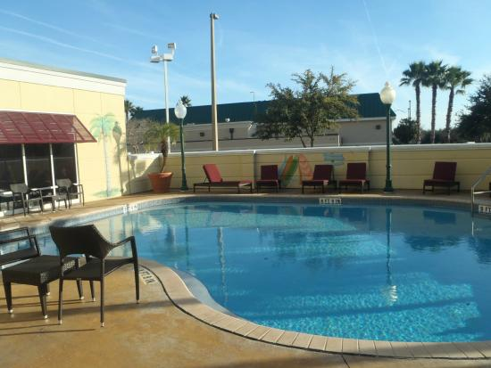 Hampton Inn & Suites Jacksonville South-St. Johns Town Center Area : The pool