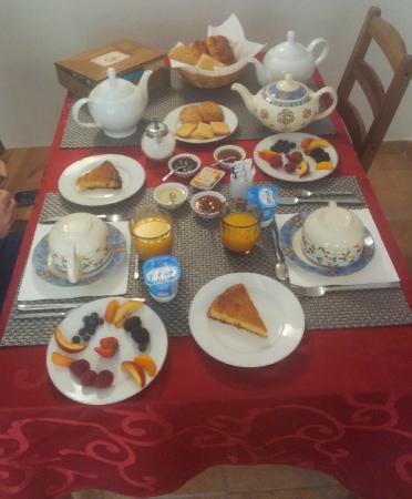 Le Mas des Chenes: la colazione