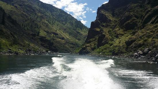 Oxbow, Oregón: Hells canyon adventures