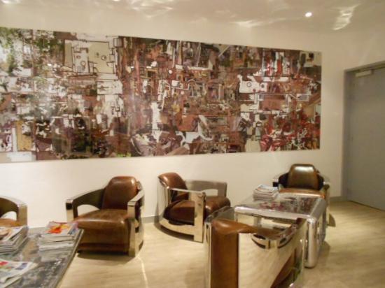 Hotel Atlantic: salon
