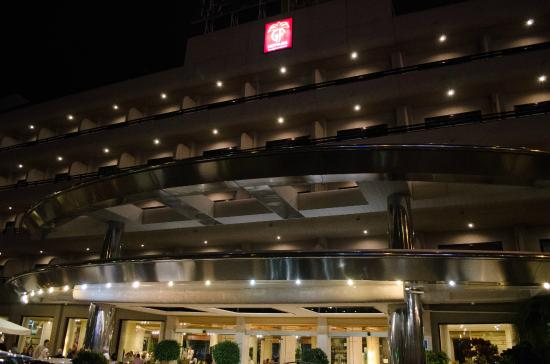 GF Fanabe: hotel front view at night