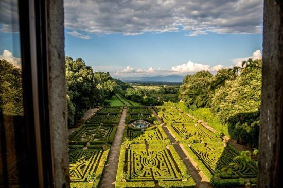 Vignanello, Italia: Il Giardino Storico fatto realizzare da Ottavia Orsini di Bomarzo nel 1611.