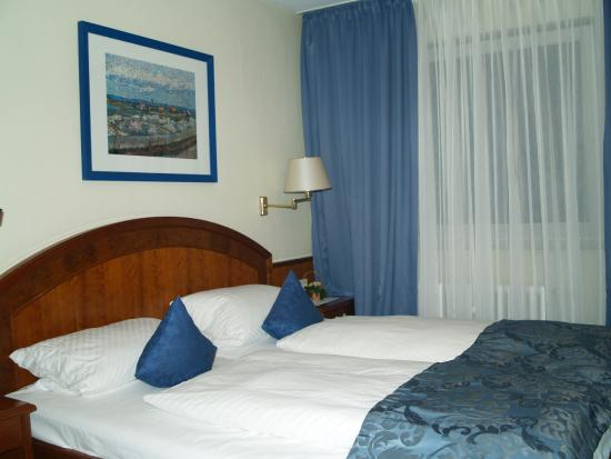 Hotel am Heideloffplatz: The room with double bed