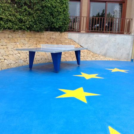 Albir Garden Resort: Table tennis area