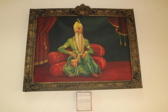 Maharaja Ranjit Singh Museum: Nice way of displaying one' life