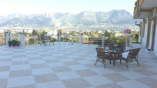 Rocca di Monreale : terrazzo
