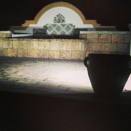 Rocca di Monreale : fontana