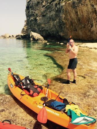 Bugibba, Malta: Jon and Co, the Northern shore, St Paul's Island