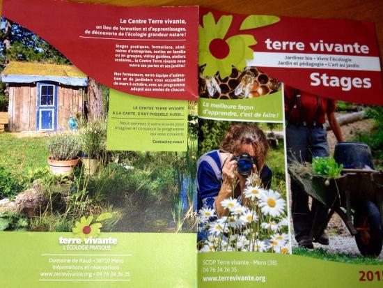 Centre écologique Terre Vivante: Livret des stages 2015