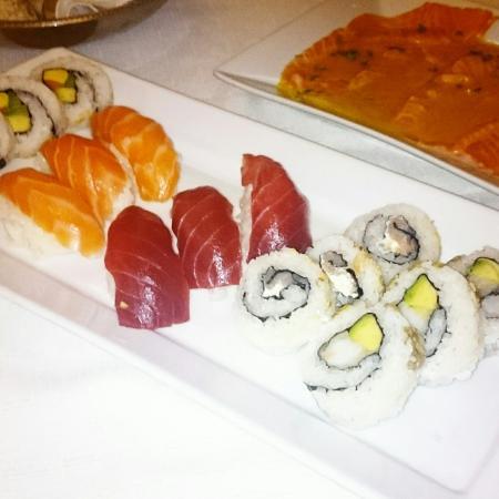Capitolo Due: Sushi e tagliatelle noci e gamberetti