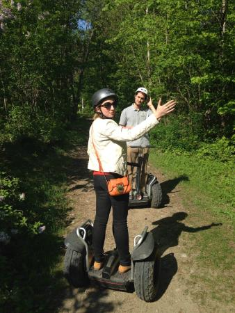 Barrie, Canada: off-road segway