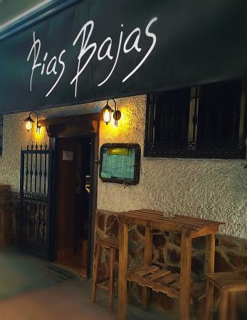 Restaurante Rias Bajas: Entrada